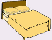 How to measure for bedspreads