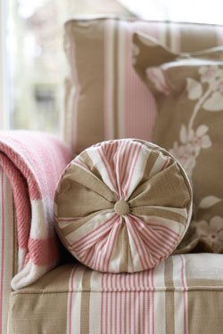 Upholstery, cushions and soft furnishings from the Vanessa Arbuthnott collection